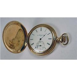 1902 ELGIN POCKET WATCH - WORKS