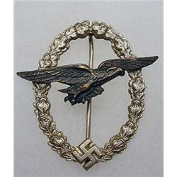 WW2 GERMAN NAZI LUFTWAFFE GLIDER PILOT BADGE - Mak