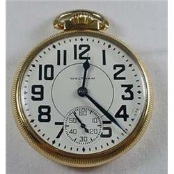 EARLY WALTHAM 21 JEWEL POCKET WATCH - WORKS