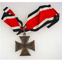 WW2 GERMAN NAZI KNIGHTS CROSS TO THE IRON CROSS W/
