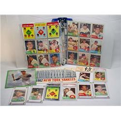 LARGE COLLECTION OF 1962-1963 NY YANKEES MEMORABIL