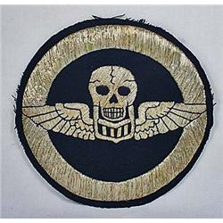 WW2 USAAF AIR CORPS FIGHTER SQUADRON PATCH - Silve
