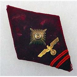 WW2 GERMAN NAZI POLITICAL LEADER OFFICER'S SLEEVE