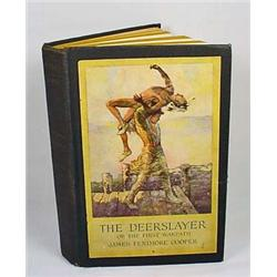 "1926 ""THE DEERSLAYER"" HARDCOVER BOOK - By James Fe"