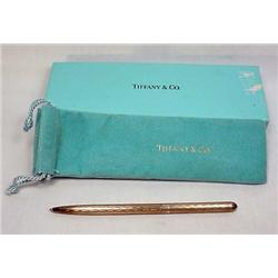 VINTAGE TIFFANY AND CO. STERLING SILVER PEN W/ ORI