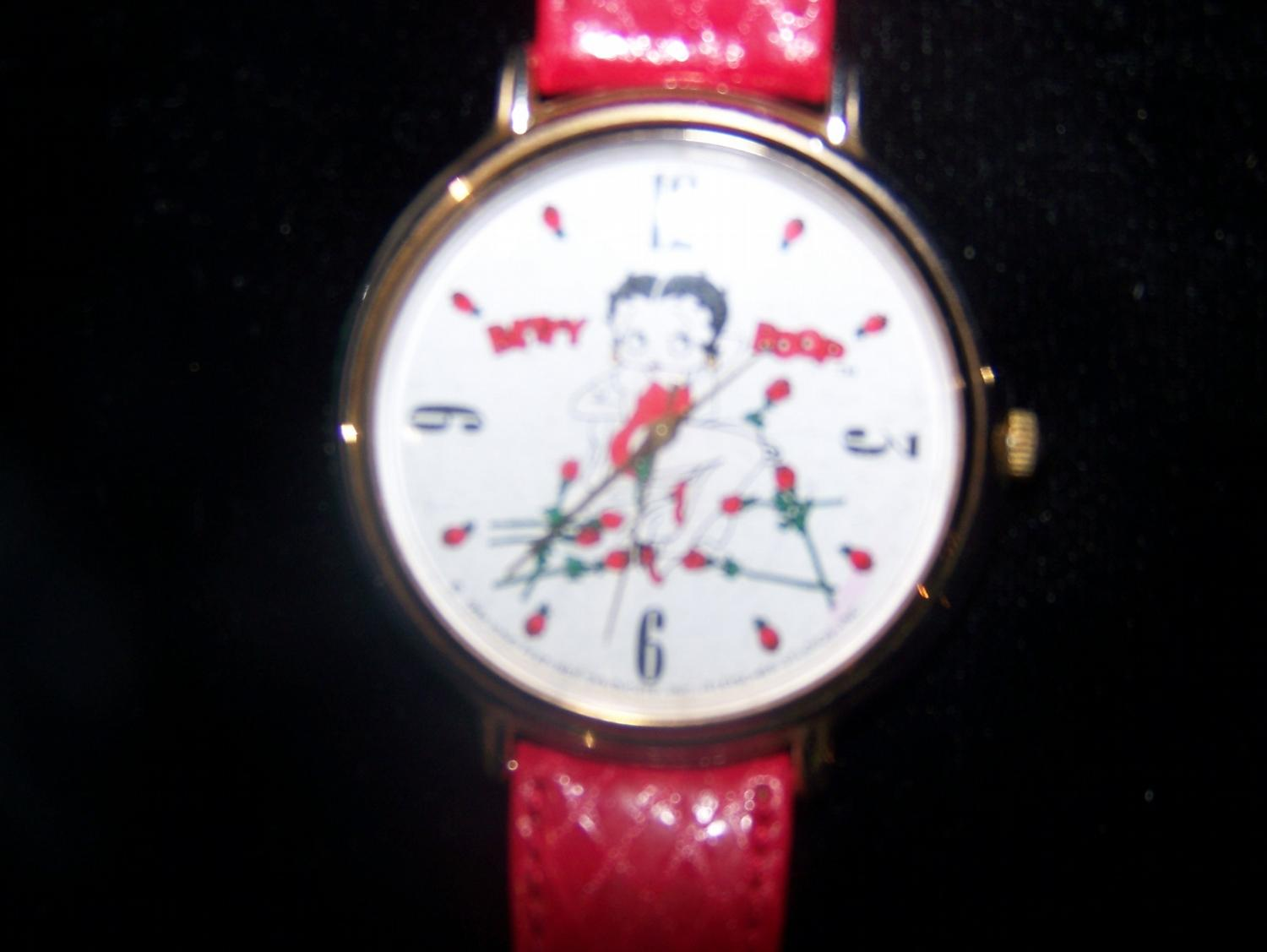 Image 1  Ladies Betty Boop Watch(3) Piece Ladies costume jewelry (2 ... & Ladies Betty Boop Watch(3) Piece Ladies costume jewelry (2 ...
