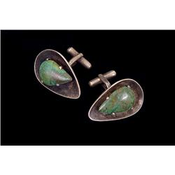 Cuff links, Mexican, contemporary
