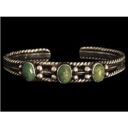 Bracelet, Navajo, second quarter of the 20th century
