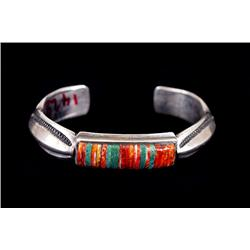 Bracelet, Navajo, contemporary by Harry H. Begay