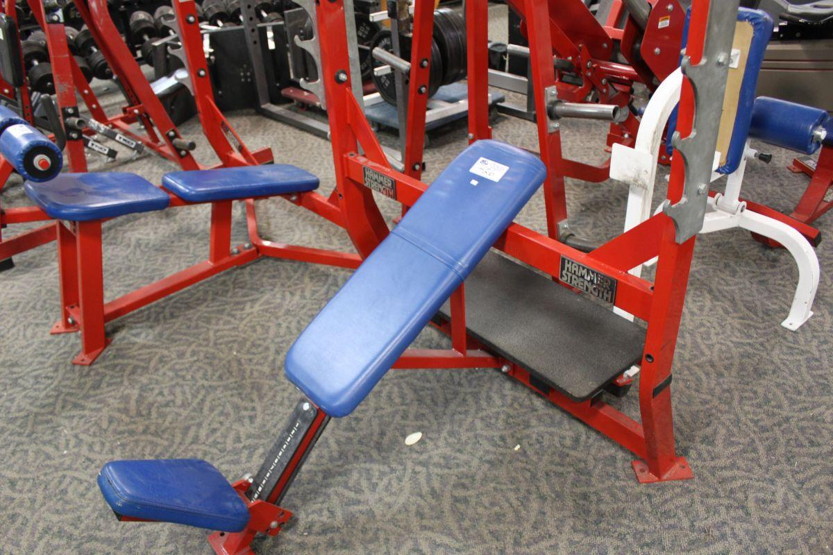 Hammer Strength Bench Presses Part - 39: Image 1 : Hammer Strength Bench Press