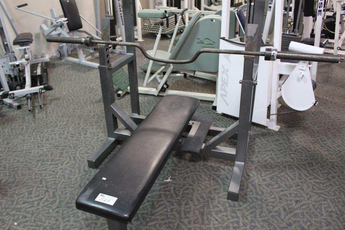 Hammer Strength Bench Presses Part - 22: Image 1 : Hammer Strength Bench Press With Bar