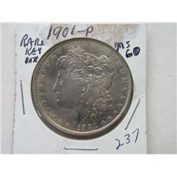 1901-P MORGAN DOLLAR