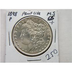 1898-P MORGAN DOLLAR