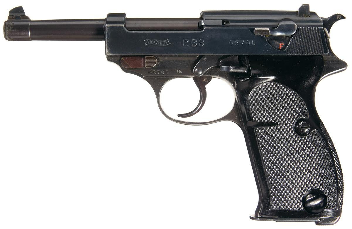 Scarce And Excellent Walther Zero Series P 38 Pistol