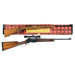 Two Lever Action Rifles A) Winchester Model 88 Lever Action Rifle with Factory Box