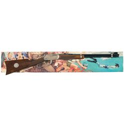 Winchester Boy Scouts of America Model 9422 Lever Action Rifle with Box