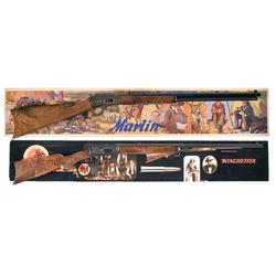Two Boxed Commemorative Lever Action Rifles A) Marlin Model 1894 Century Limited Commemorative Rifle