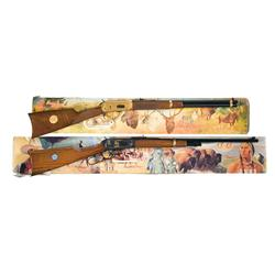 Two Boxed Winchester Model 94 Commemorative Lever Action Long Arms A) Winchester Model 94 Antlered G