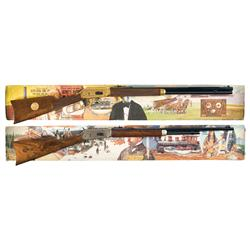 Two Boxed Winchester Model 94 Commemorative Rifles A) Winchester Model 94 Oliver Winchester Commemor