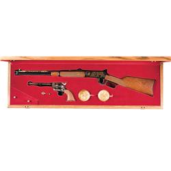 Cased Winchester/ Colt Commemorative Rifle/Revolver Set A) Winchester Model 94 Commemorative Rifle w