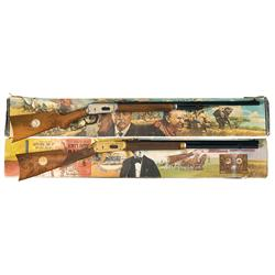 Two Boxed Winchester Model 94 Commemorative Lever Actions A) Winchester Model 94 Theodore Roosevelt