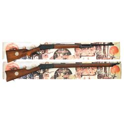 Two Boxed Winchester NRA Commemorative Lever Actions A) Winchester Model 94 NRA Centennial Commemora