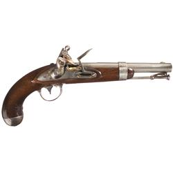 U.S. Model 1836 Flintlock Waters Pistol