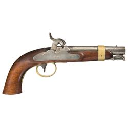 Rare Henry Deringer Model 1842 Percussion Navy Pistol