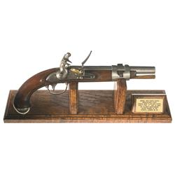 U.S. Simeon North Model 1816 Flintlock Pistol