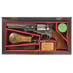 Cased Colt Model 1849 Percussion Pocket Revolver