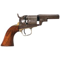 "Scarce Colt Model 1849 ""Wells Fargo"" Percussion Revolver"