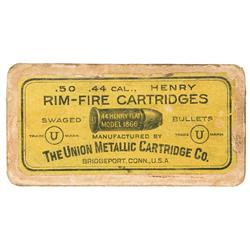 Box of UMC .44 Henry Rimfire Cartridges
