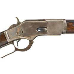 Presentation Inscribed Deluxe Special Order Winchester Deluxe Model 1873 Lever Action Rifle