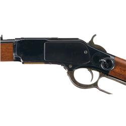 Exceptional Late Production Winchester Model 1873 Saddle Ring Carbine