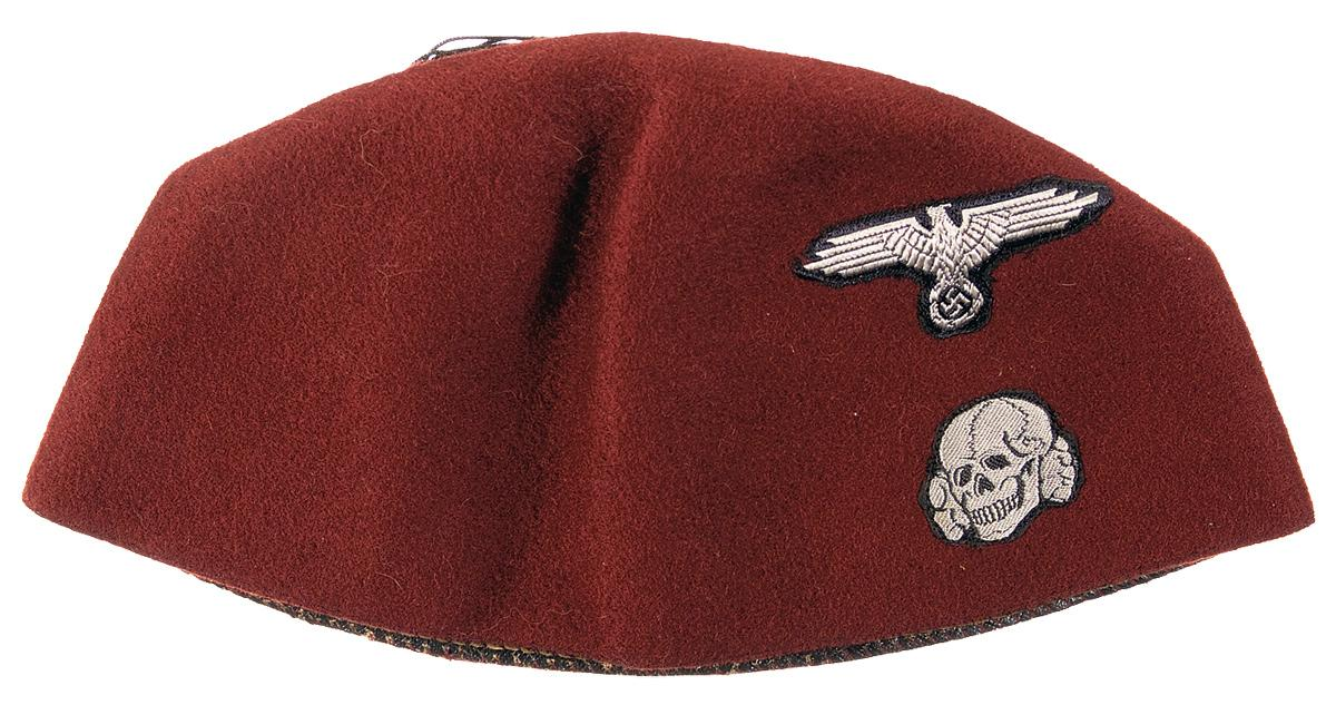Great Red Parade Fez Of The 13th Waffen Mountain Division Of The SS Handschar  (1st. Loading Zoom