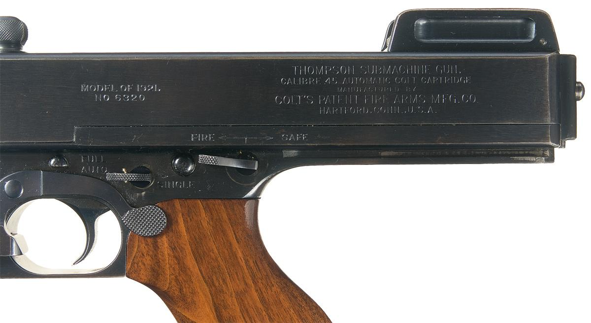 modern thompson machine gun