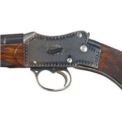 Engraved Hughes & Sons Birmingham Martini-Henry Falling Block Rifle
