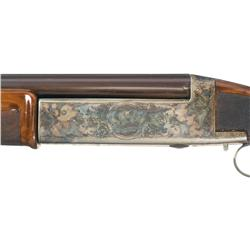 Rare Engraved Young Grade A Repeating Trap Shotgun