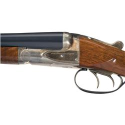 Cased Savage Fox Sterlingworth Double Barrel Shotgun