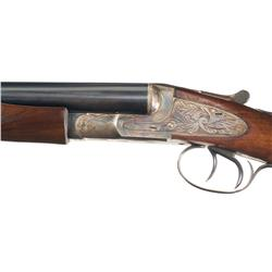 L.C. Smith Ideal Grade Double Barrel 16 Gauge Hammerless Shotgun