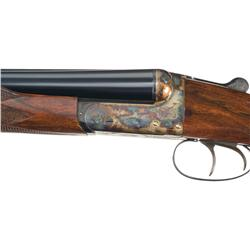 Webley &amp; Scott Model 700 Double Barrel Hammerless Shotgun