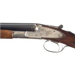 Rare L.C. Smith Skeet Special Grade 16 Gauge Double Barrel Shotgun with Case