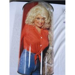 Vintage Dolly Parton Trash Can