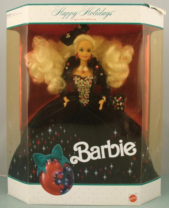 Holiday barbie values: celebration barbie special edition 2000.