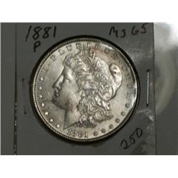 1881-P MORGAN DOLLAR
