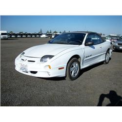 2000 pontiac sunfire gt convertible coupe. Black Bedroom Furniture Sets. Home Design Ideas