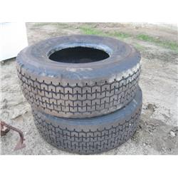 Goodyear 425/65R 22.5 Tires, Qty. 2