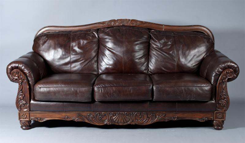 Oversized Leather Sofas Sofa Extraordinary Deep Leather