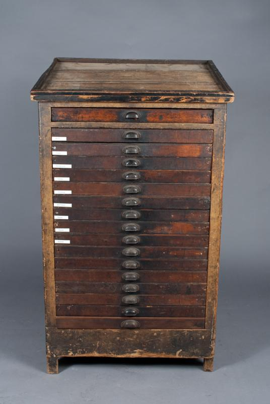 antique printers cabinet antique furniture