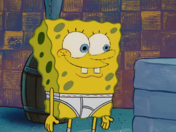 Cartoon Characters Underwear : Why do cartoon characters always wear whitey tighties